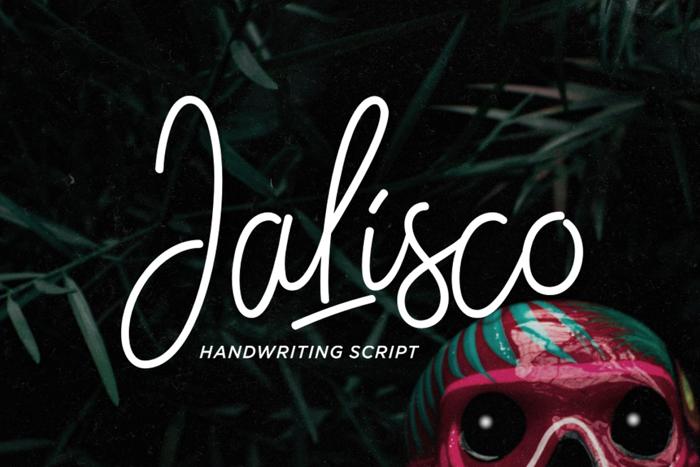 Jalisco Script Demo Font poster
