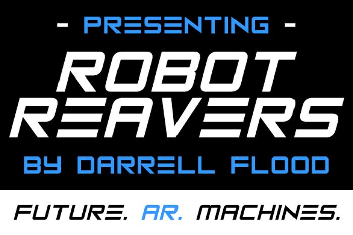 Robot Reavers Font