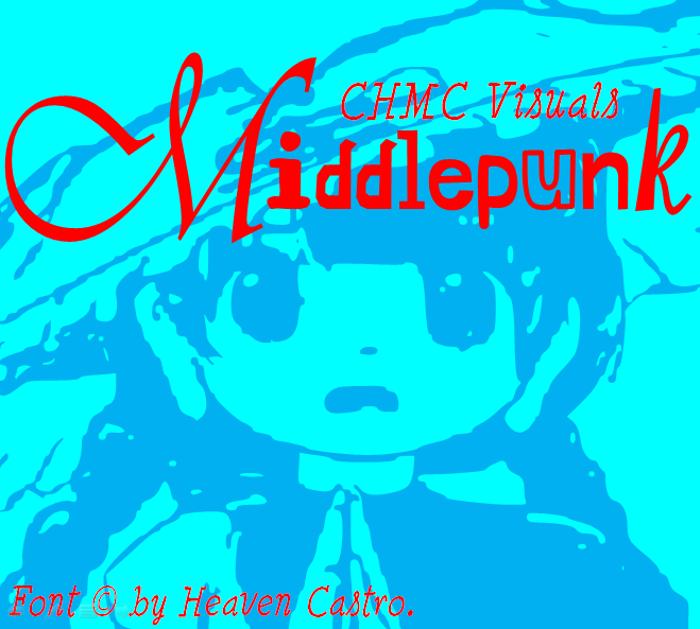 Middlepunk CHMC Font poster
