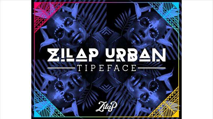 Zilap Urban Font poster