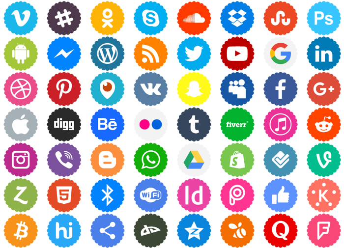 Icons-Color Font poster