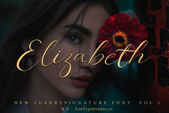 Elizabeth Font poster