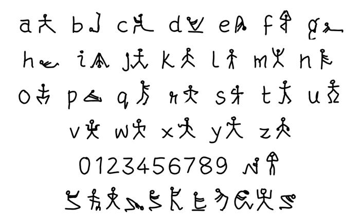 mudrakshar Font poster