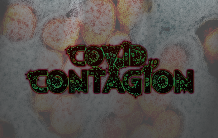 Contagion Font poster