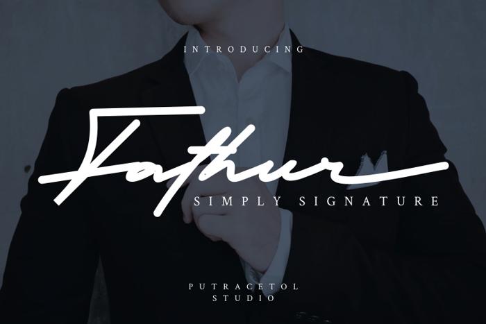 Fathur Font poster