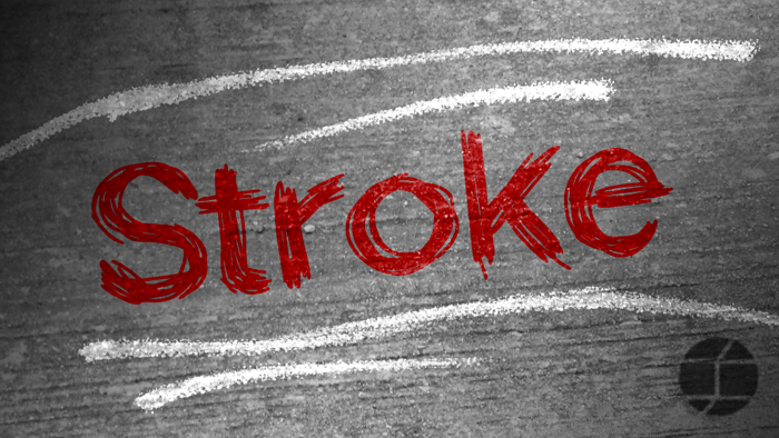 Stroke Font poster