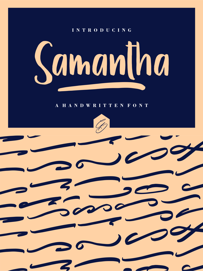 Samantha Font poster