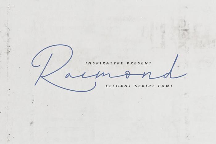 Raimond Font poster