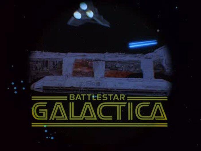 Battlestar Font poster