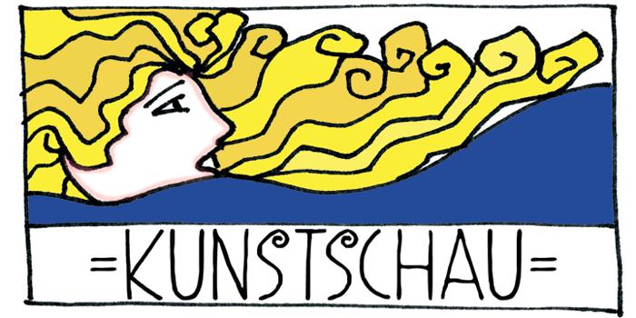 DK Kunstschau Font poster