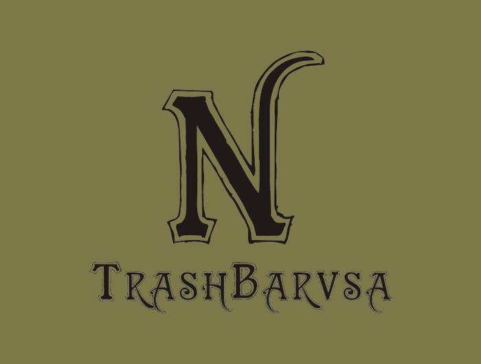 TrashBarusa Font poster