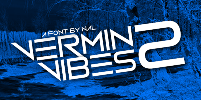 Vermin Vibes 2 Font poster