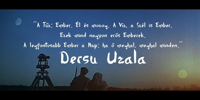 Dersu Uzala brush Font poster