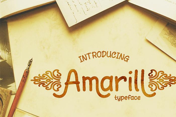 AmarillReg poster