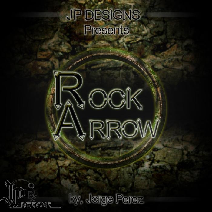 Rock Arrow Font poster