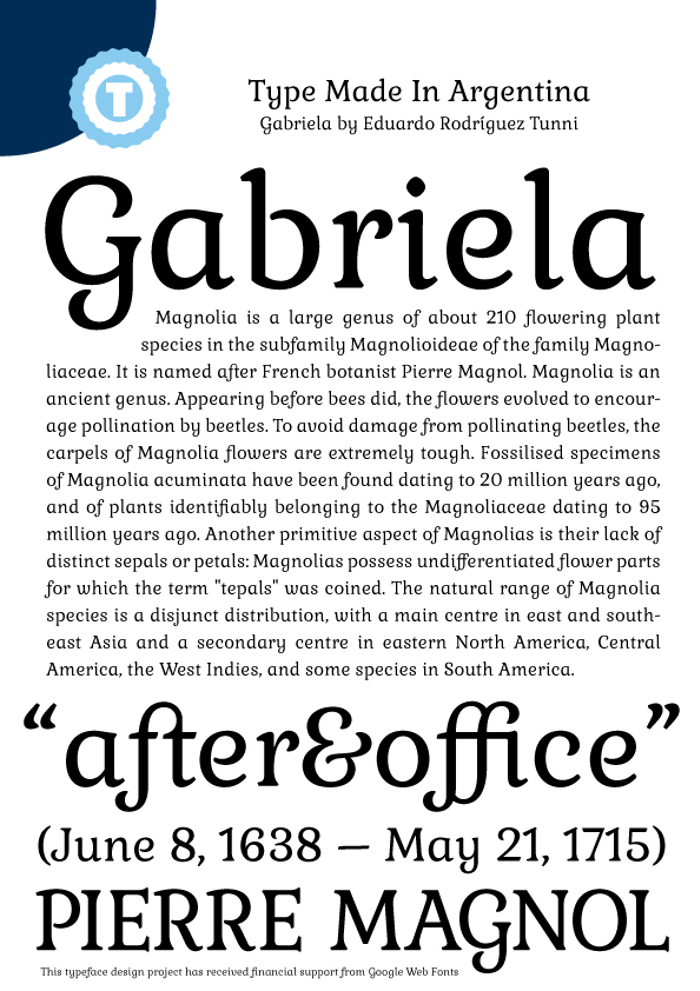 Gabriela Font poster
