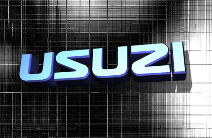 Usuzi Font poster