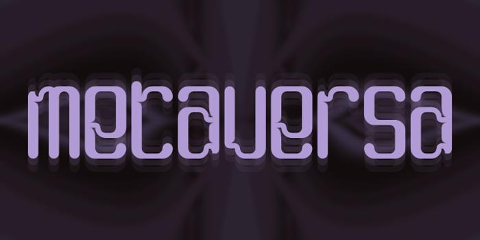 Metaversa Font poster