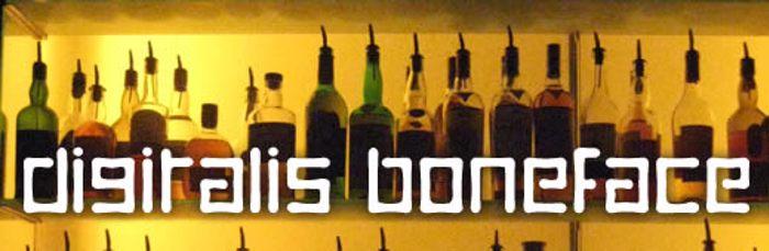 Digitalis Font poster