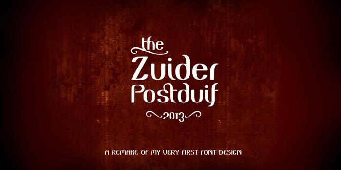 Zuider Postduif Demo Font poster