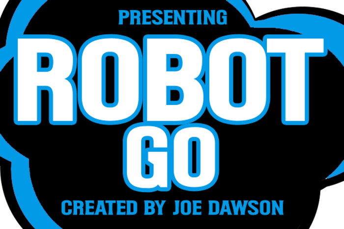 Robot Go Font poster