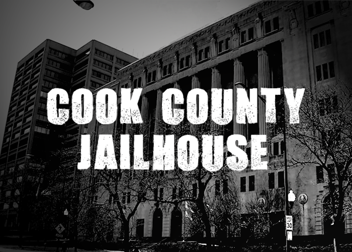 Cook County Jailhouse Font poster