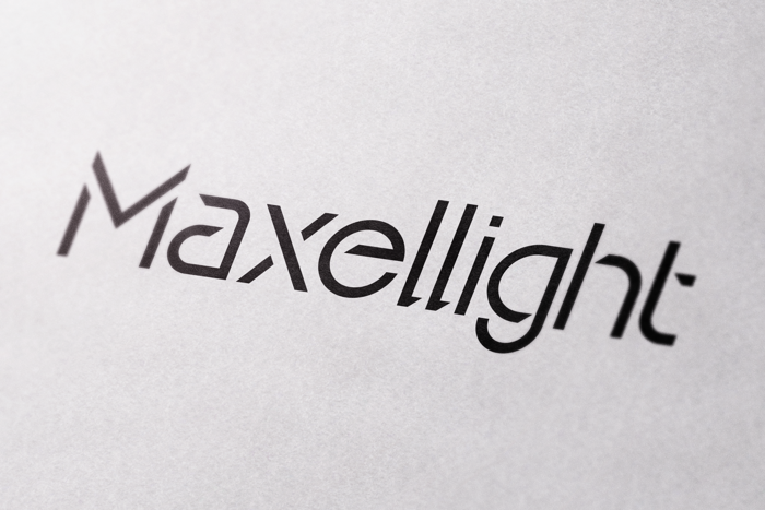 Maxellight Font poster