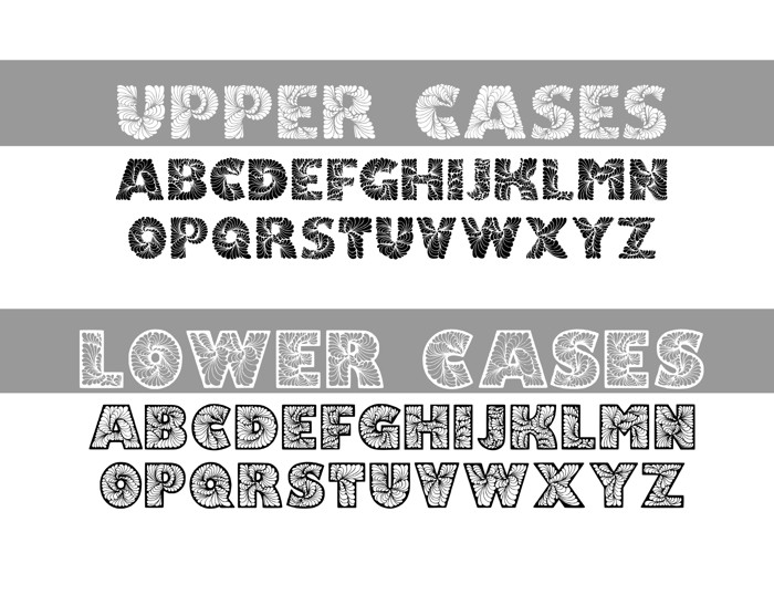 DoodLeafs Font poster