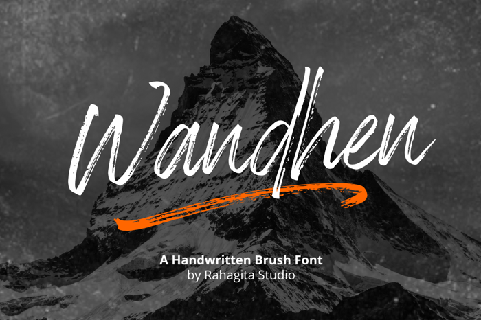 Wandhen Font poster
