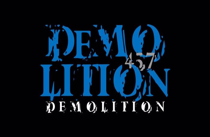 Vtks Demolition Font poster