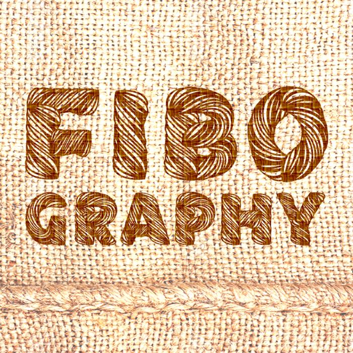 Fibography Font poster
