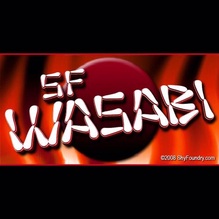 SF Wasabi Font poster