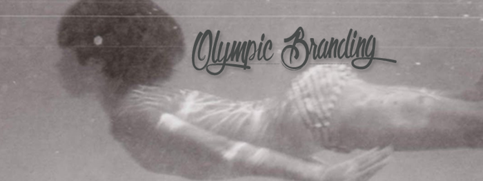 Olympic Branding Font poster