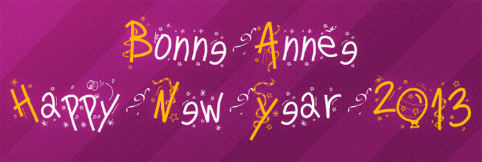 PWHappyNewYear Font poster