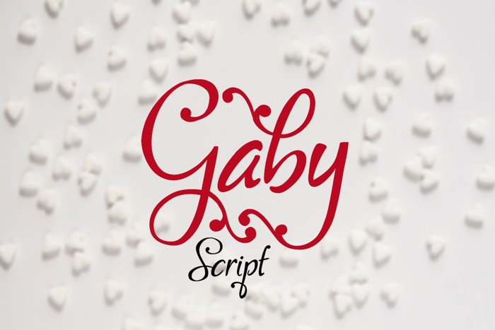 Gaby Font poster