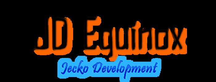 JD Equinox Font poster