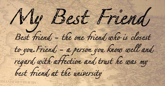 MyBestFriendDEMO Font