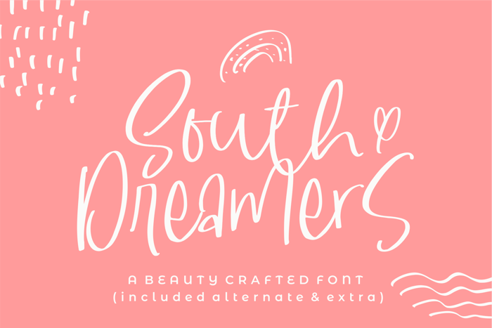 South Dreamers Font poster