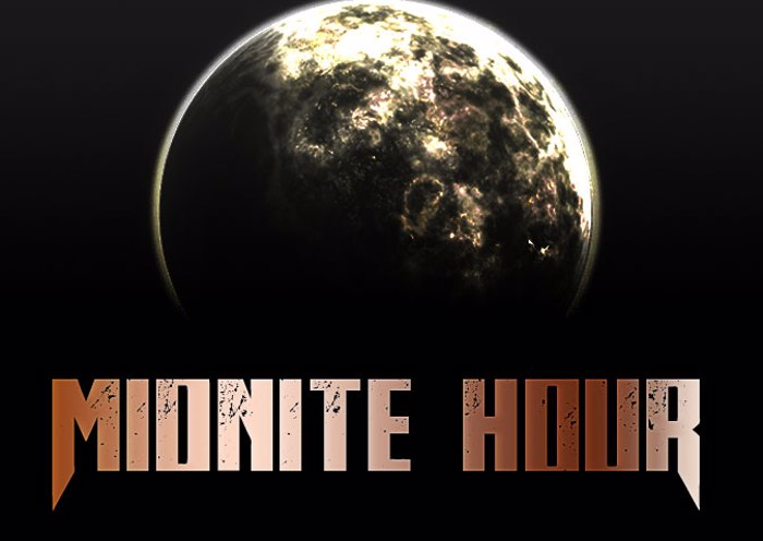 Midnite Hour Font poster