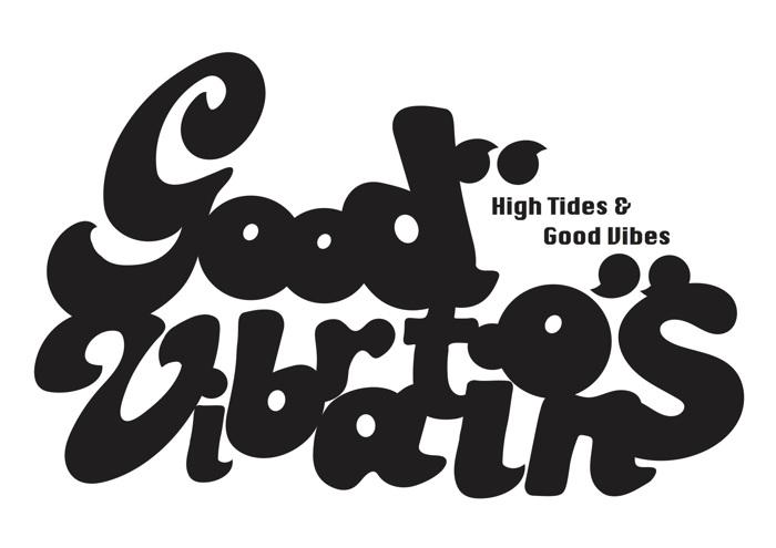 Good Vibrations Font poster