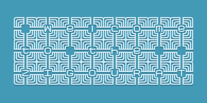 Zigourat Font poster