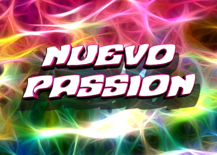 Nuevo Passion Font poster