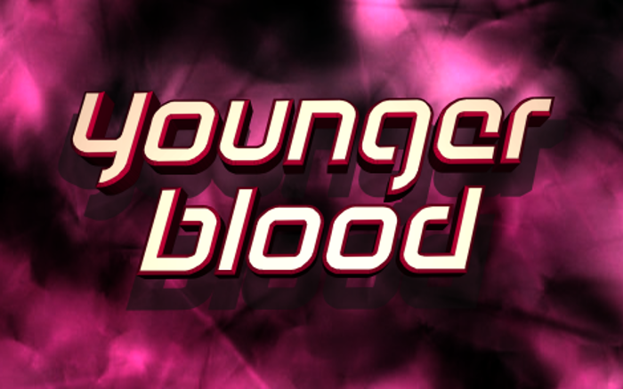 Youngerblood Font poster
