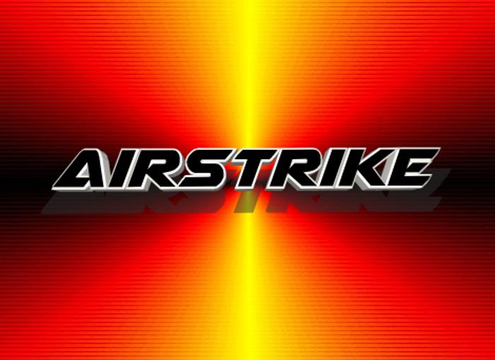 Airstrike poster