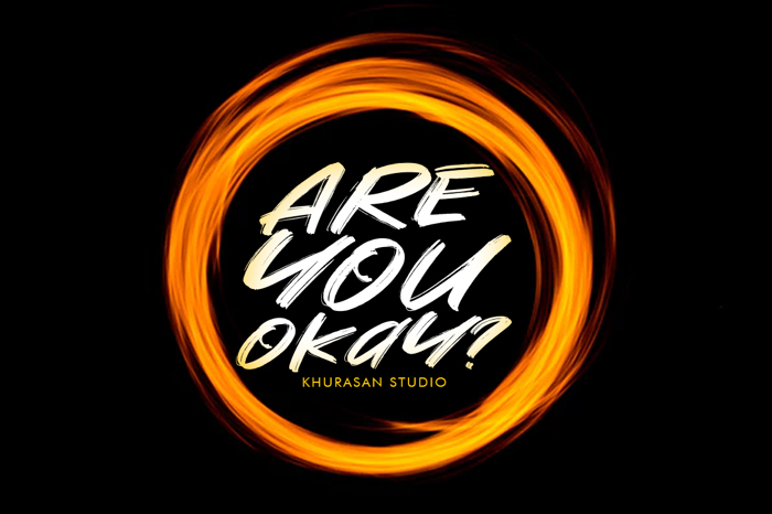 Are You Okay Font poster