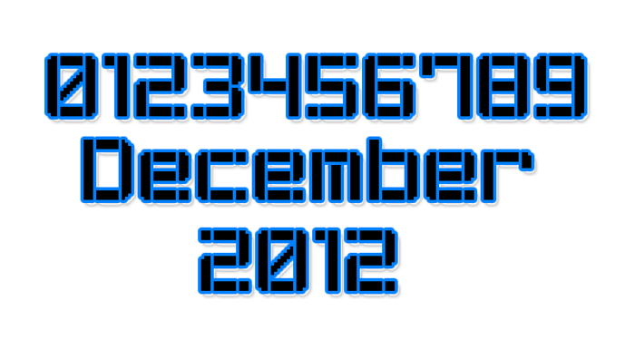 Stencil Pixel-7 Font poster