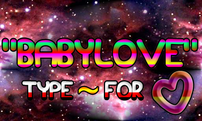 Babylove poster