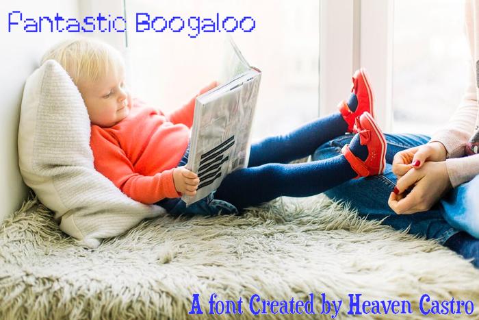 Fantastic Boogaloo Font poster