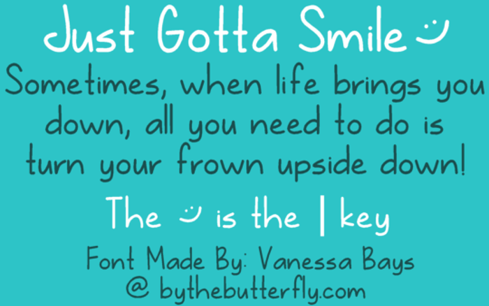 Just Gotta Smile poster