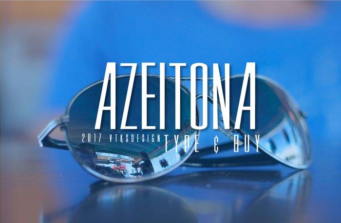 Vtks Azeitona Font poster